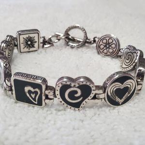 """Jewelry - """"Brighton"""" Heart & C Bracelet"""